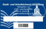 Büchereikarte Lauenburg