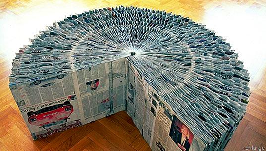 Zeitungsbank