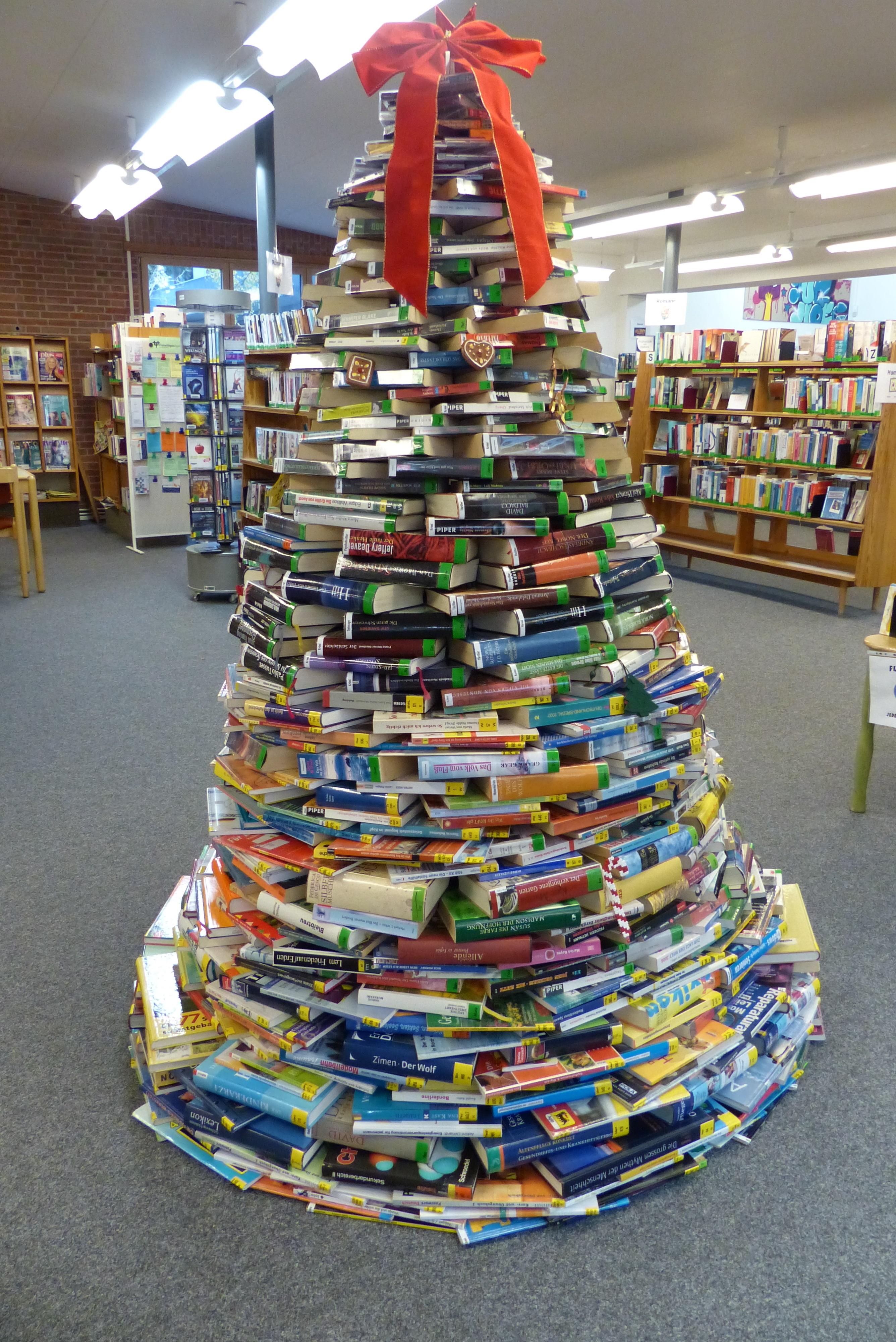 Tannenbaum Buch.Unser Weihnachtsbaum Steht Blog Der Stadt Und Schulbücherei