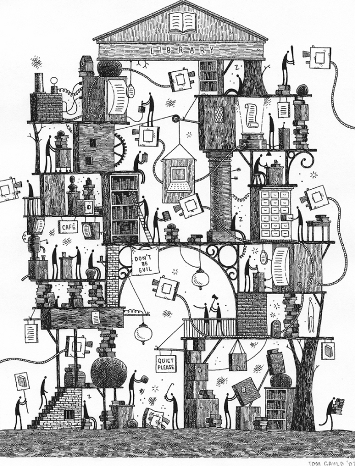 Tom_Gauld_Library