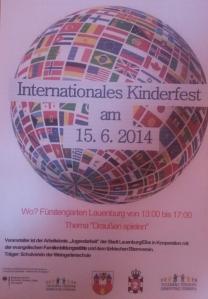Internationales Kinderfest Lauenburg 2014