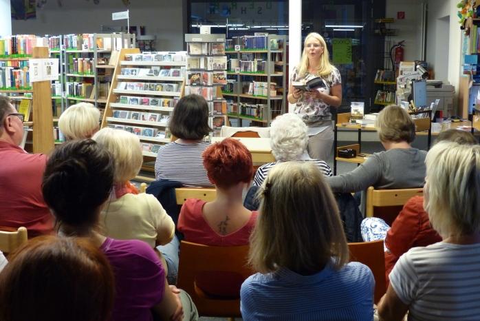 Bücherei Lauenburg Lesung Sandra Dünschede