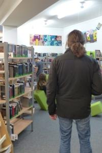Fotoshooting Bücherei Lauenburg