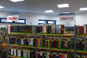 Bücherei Wedel Romanbereich