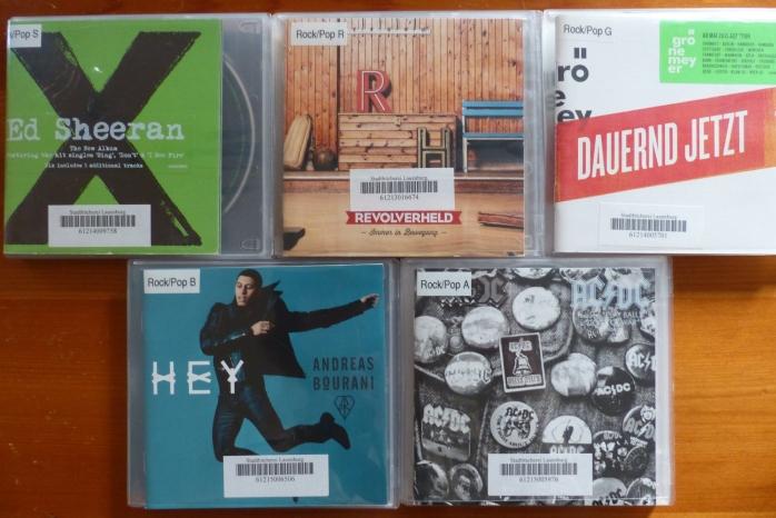 CDs Bücherei Lauenburg