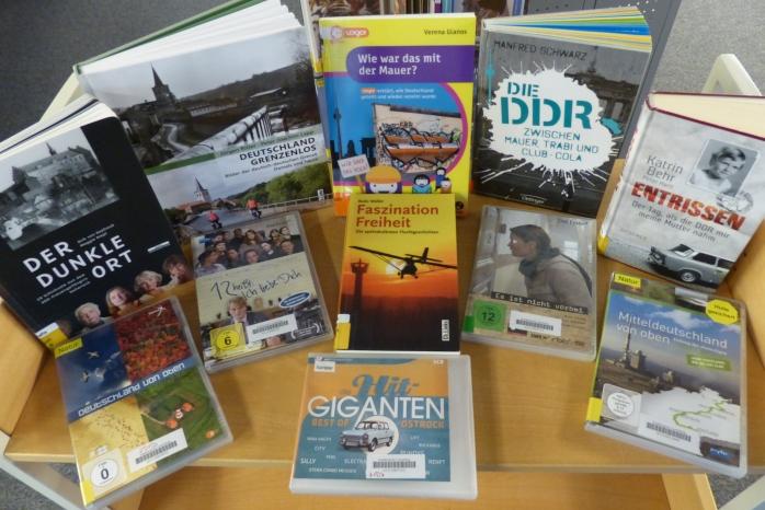 Bücherei Lauenburg Medien zur Deustchen Einheit