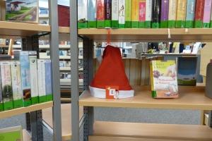 Weihnachtsmützen-Rätsel Bücherei Lauenburg