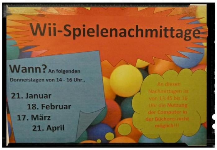 Wii-Nachmittage in der Bücherei Lauenburg
