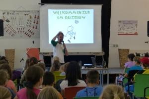 Fußball-Quiz-Show Bücherei Lauenburg